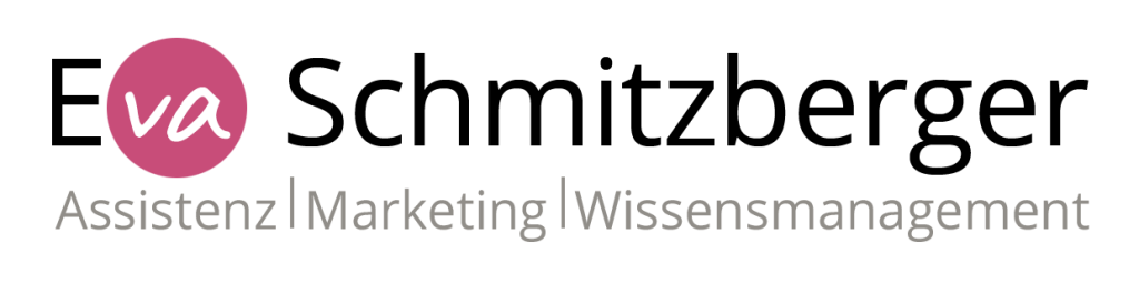 Logo Eva Schmitzberger - Assistenz, Marketing, Wissensmanagement